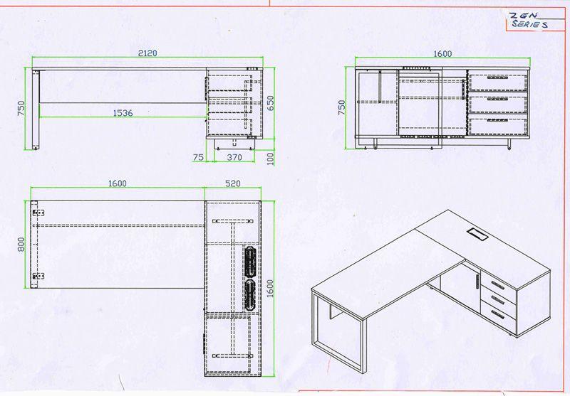 Office Desk Size