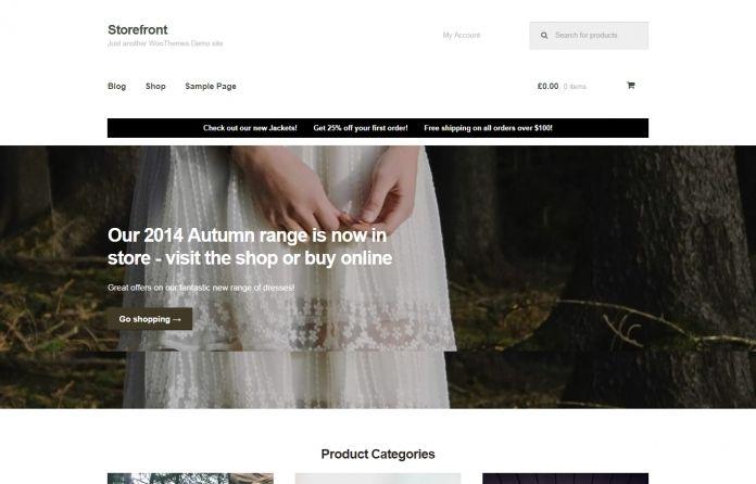 Storefront - Templates - cmsgadget.com - Free and Premium Wordpress Themes and Joomla Templates