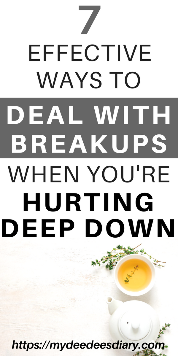 Dealing with breakups