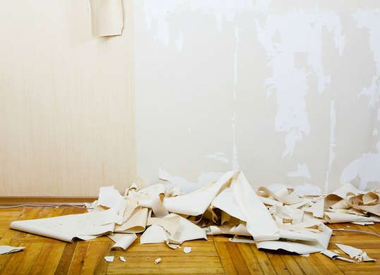 10 Things You Didn T Know A Sponge Can Do Removing Old Wallpaper