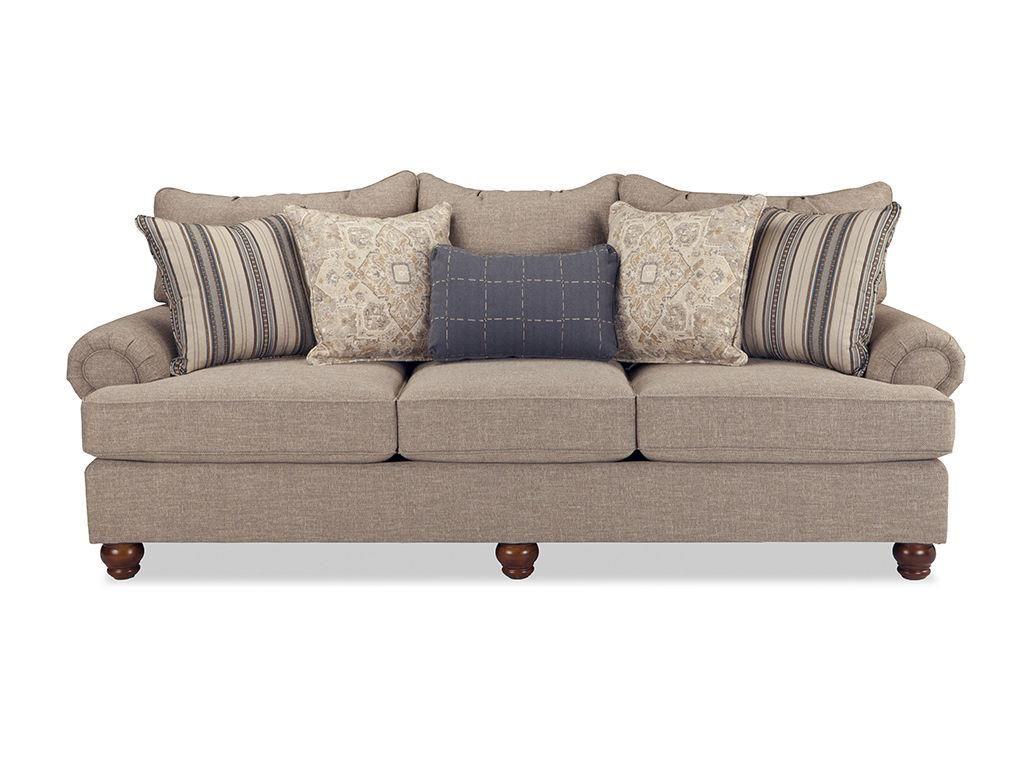 Marvelous Craftmaster Living Room Three Cushion Sofa