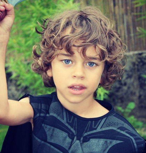 Boys Long Curly Hair Hair Pinterest Long Curly Hair