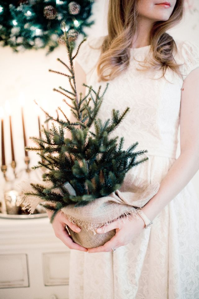 Christmas bridal shower inspiration | Anastasiya Belik Photography | http://burnettsboards.com/2013/12/christmas-bridal-shower/