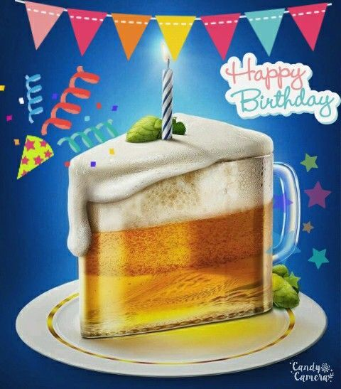 Happy Birthday Para Hombres Imagenes ~ Im�genes de feliz cumplea�os con cerveza chela pinterest y