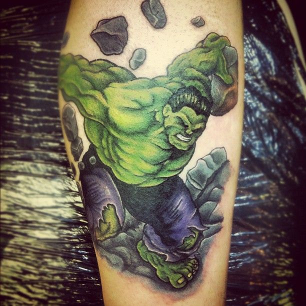 hulk tattoo by red middlesbrough uk ink my whole body pinterest. Black Bedroom Furniture Sets. Home Design Ideas