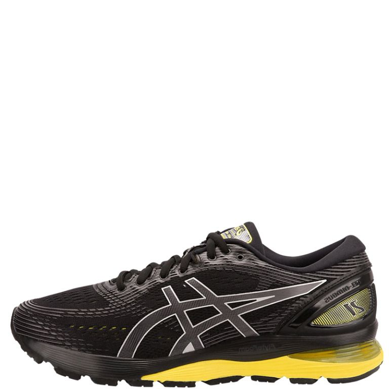 Asics Gel Nimbus 21 Men's Running Shoes Black Sneakers 2019