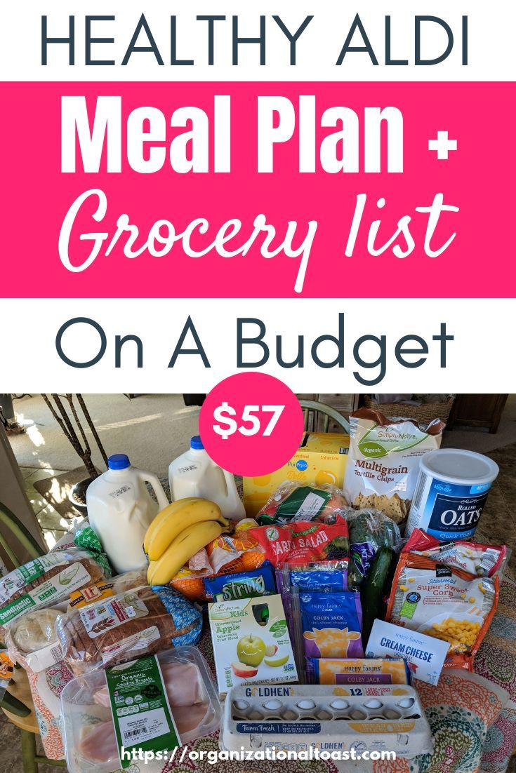 Grocery Haul and Meal Plan - Week 7 images