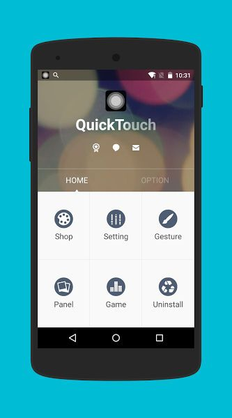 Quicktouch Apk For Android Iphone Touch Iphone Mobile Phone Iphone