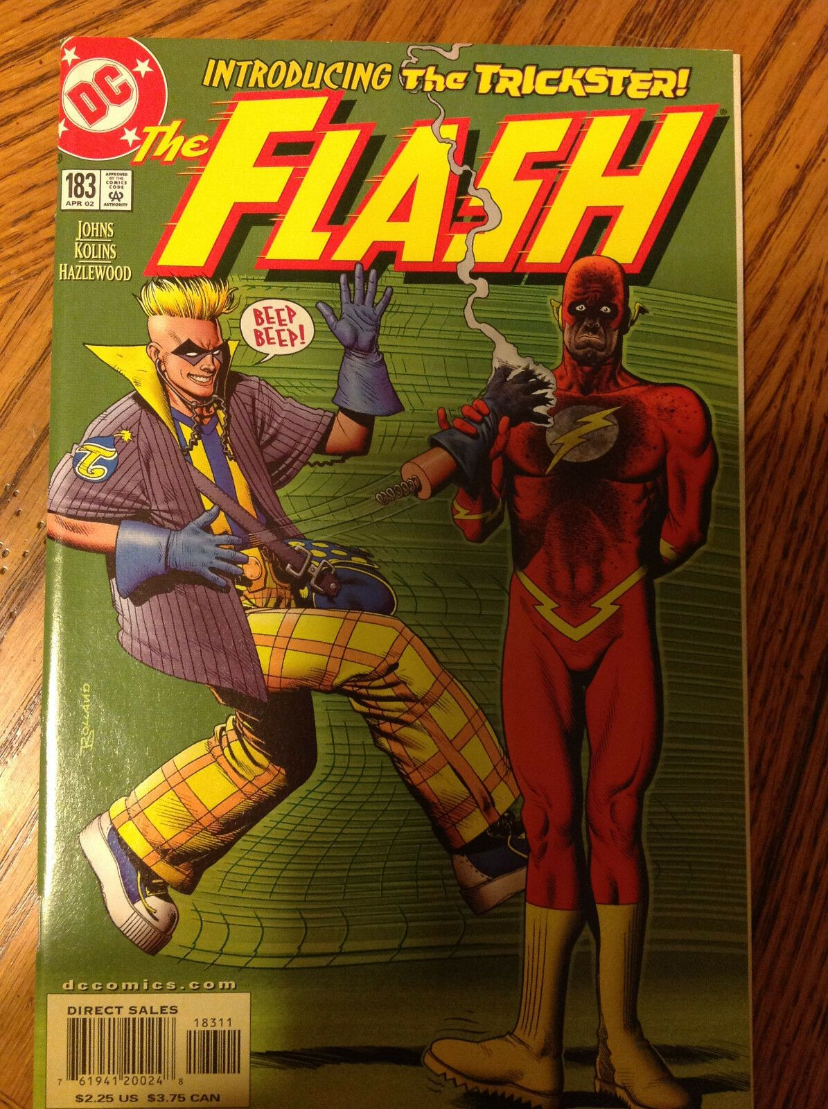 Flash #183 - 1st App. Trickster - TV Series  | eBay