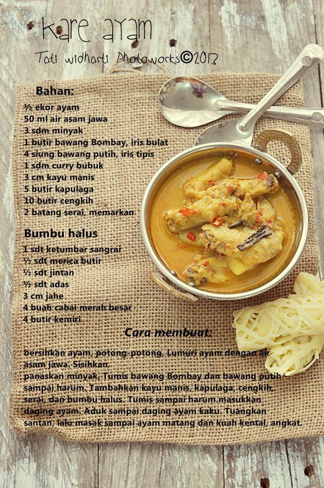 Cooking Is Cool Roti Jala Kare Ayam Resep Masakan Ide Makanan Resep Makanan