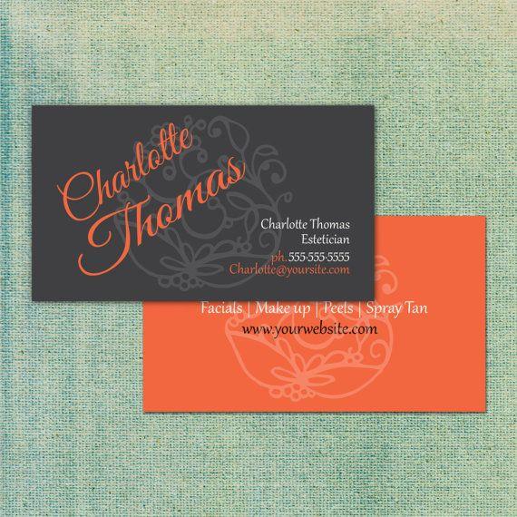 Salon style business card us standard size 35x2 by ticondesign salon style business card us standard size 35x2 by ticondesign reheart Image collections