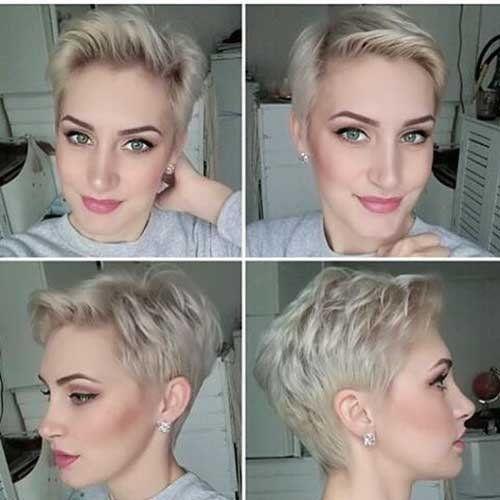 Elegante e moderno, Cortes de cabelo Curto 2018 - http://bompenteados.com/2017/10/12/elegante-e-moderno-cortes-de-cabelo-curto-2018.html