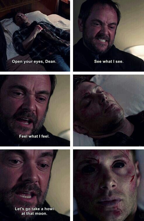 It's pretty much what I say when I recommend Supernatural