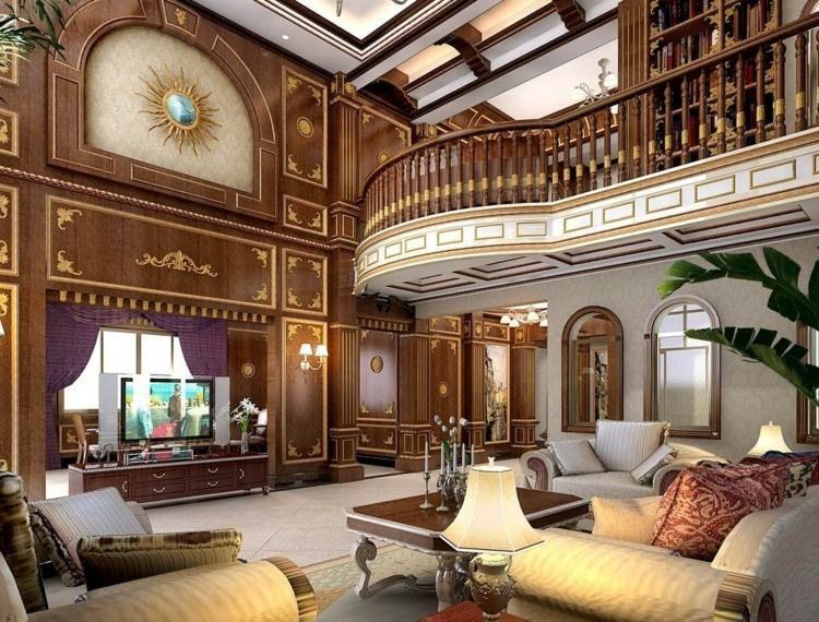Salon déco style victorien moderne en 48 idées   Victorienne moderne ...