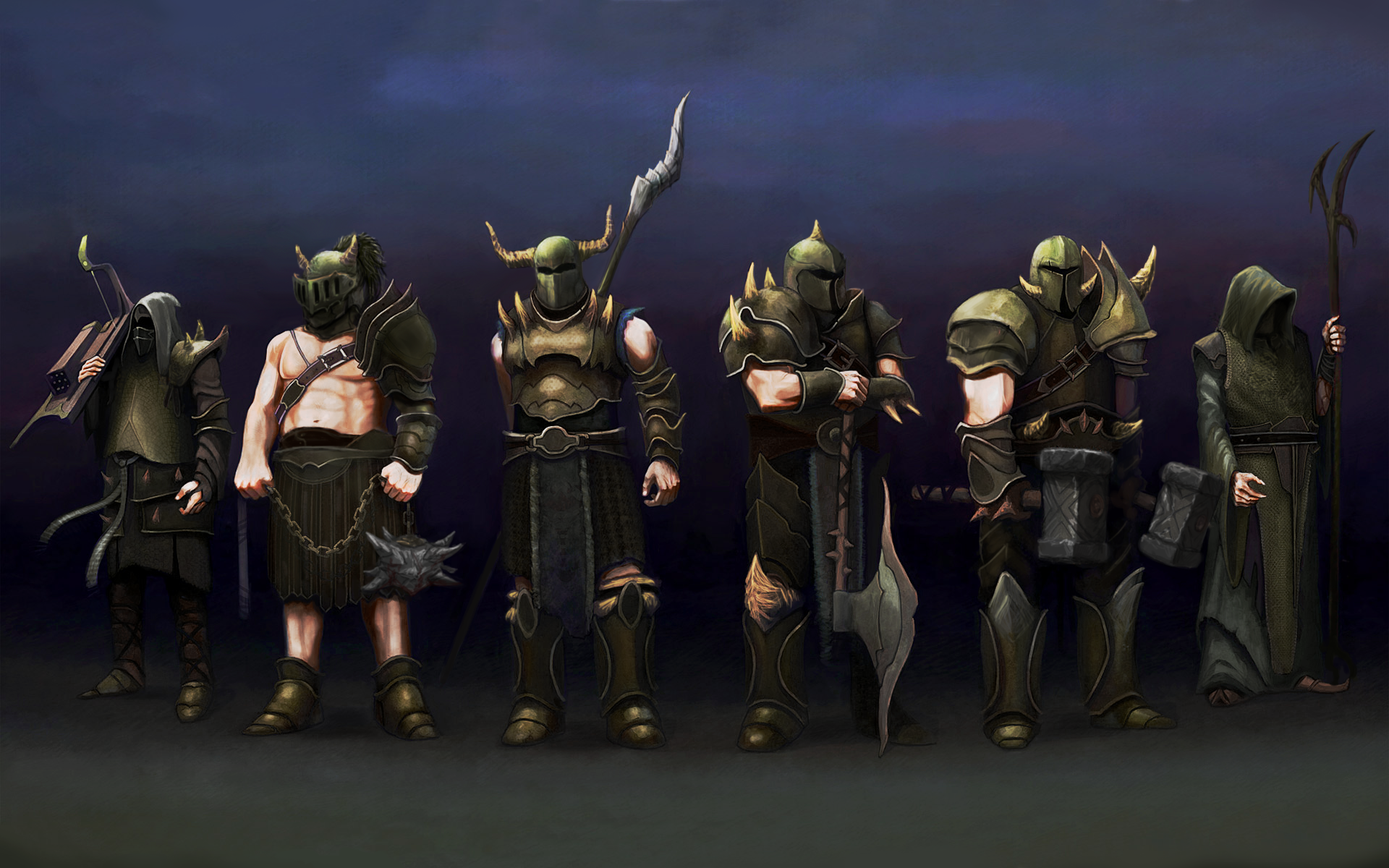 A Bit More Accurate Wallpaper Of The Barrows Bros Runescape Wallpaper Wallpaper Old School Runescape