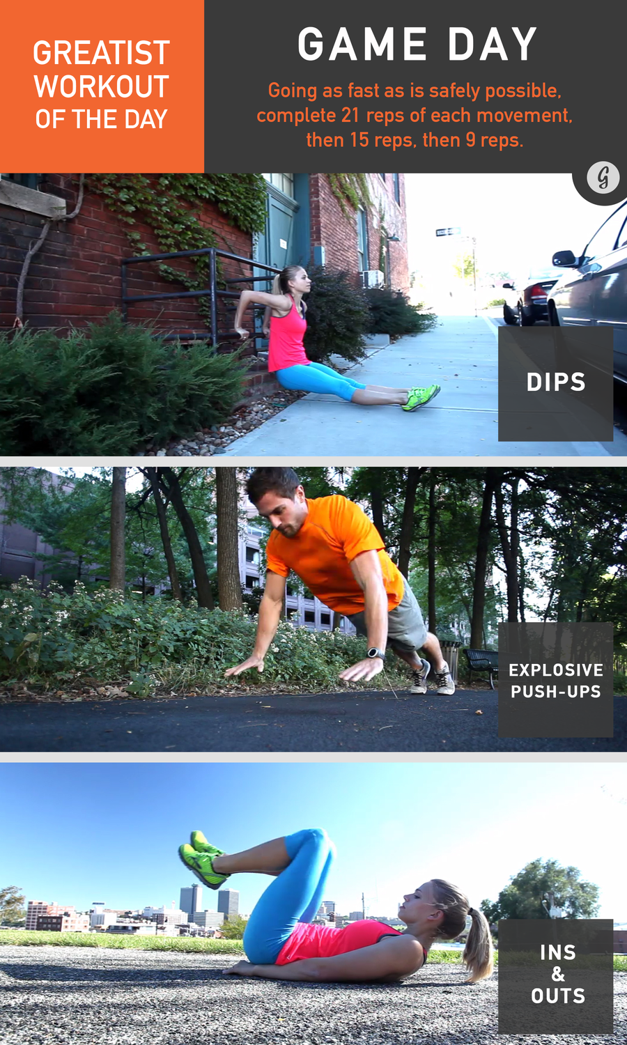 Watch Greatist Workout of the Day: Monday, June 23rd video