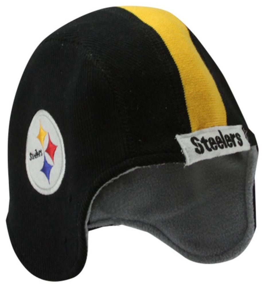 pretty nice a8f15 80b38 Pittsburgh Steelers New Era Pigskin NFL Helmet Knit Cap Winter Toboggan   NewEra  PittsburghSteelers