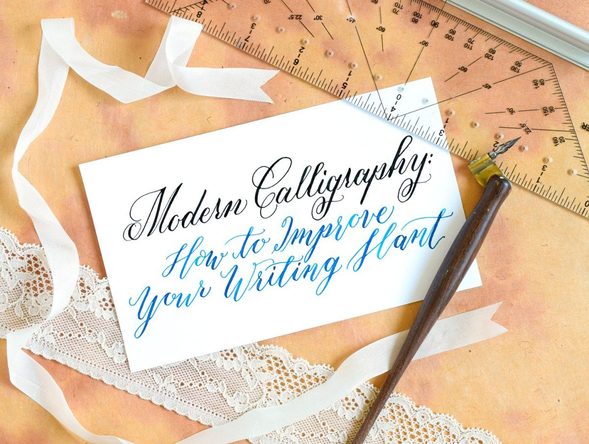 Modern Calligraphy 5 Tips To Improve Your Writing Slant