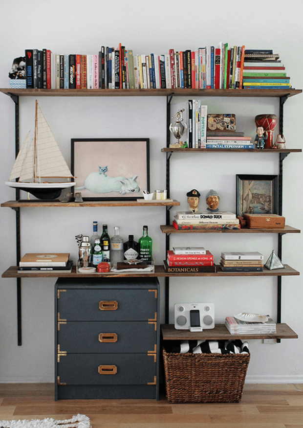 Un bureau style industriel - Frenchy Fancy