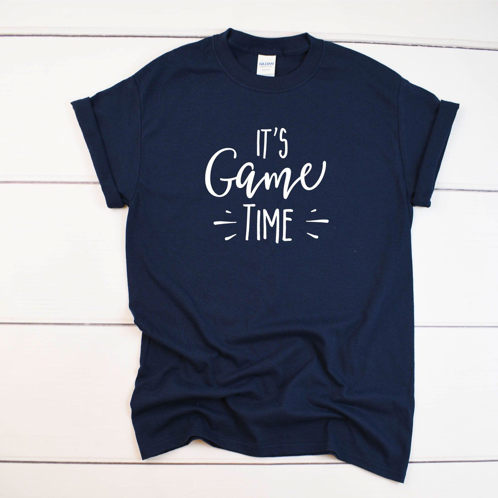 It's Game Time Game Day TShirt (With images) Matching