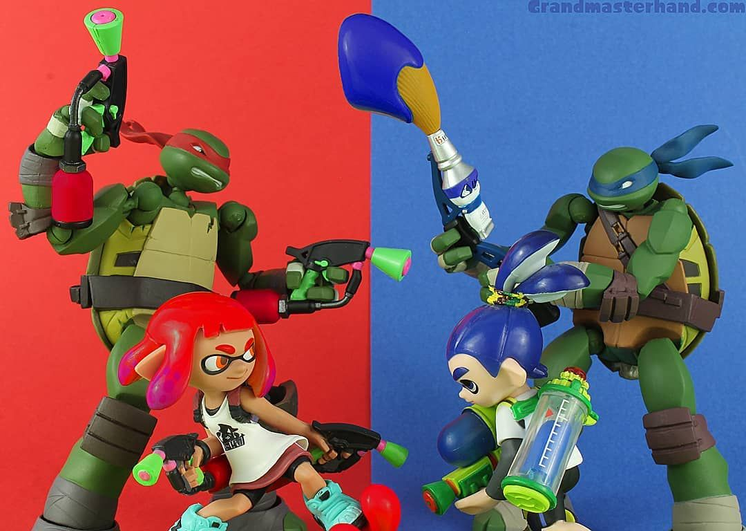 Ready To See Who Is Top Turtle The First Of Three Teenage Mutant