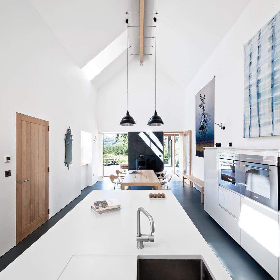 Architect Mhairi Grant of Paper Igloo converted this Scottish