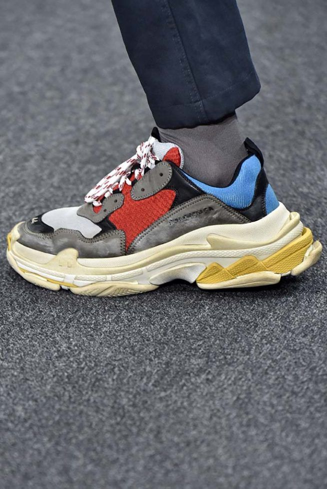 Balenciaga Paris Menswear Fall Winter 2017 January 2017 Fancy Shoes bfa4e06d7