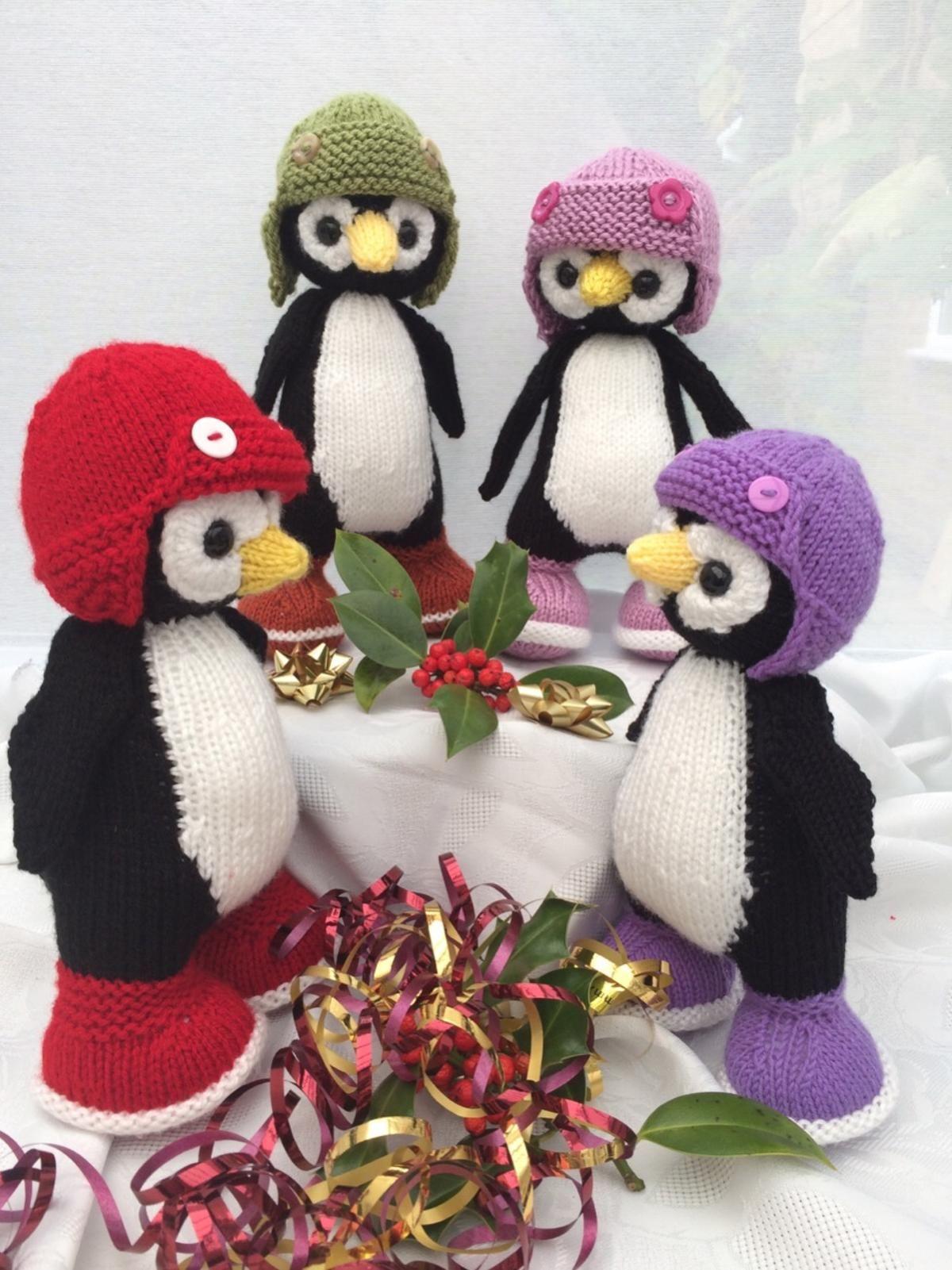 Perty the penguin penguins knitting patterns and patterns perty the penguin the penguinsknitting patternsyarn bankloansurffo Images