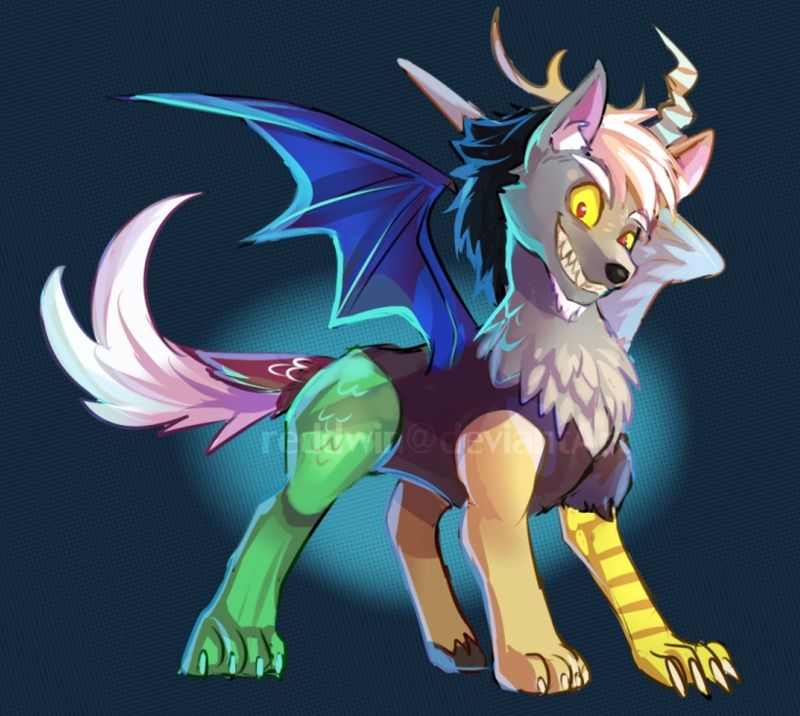 iconreddwin I curse the name, the one behind it all by reddwin My - copy my little pony coloring pages discord