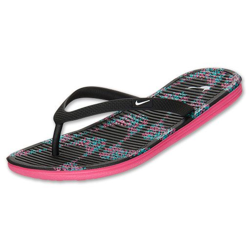 Nike Women's Solarsoft II Printed Thong Sandals