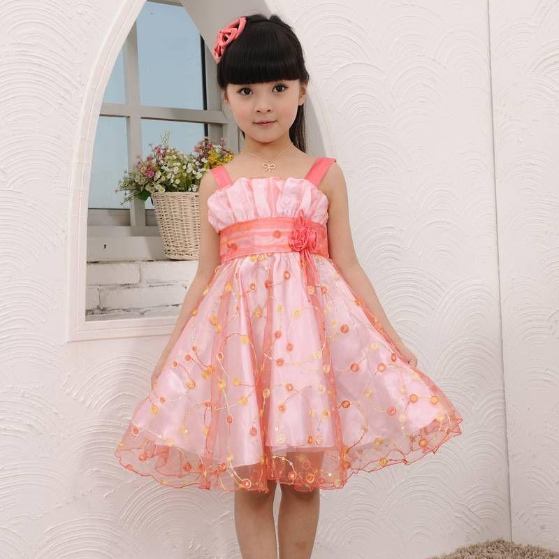 vestidos de niñas para bodas | Rous mari randial jimenez | Pinterest ...