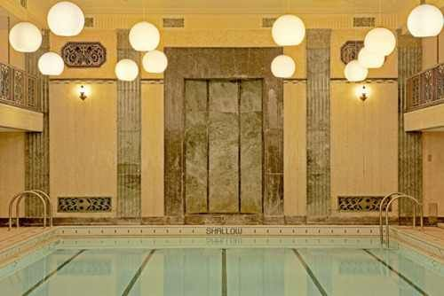 Indoor Pool, photograph by Jeremy Kohm.