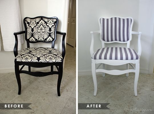 Charming How To Reupholster An Occasional Chair