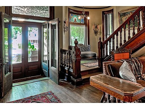 sweet house front double door design. 309 S St  Council Bluffs IA sets of double doors for front entrance that is a grand Eye Candy Pinterest Queen anne