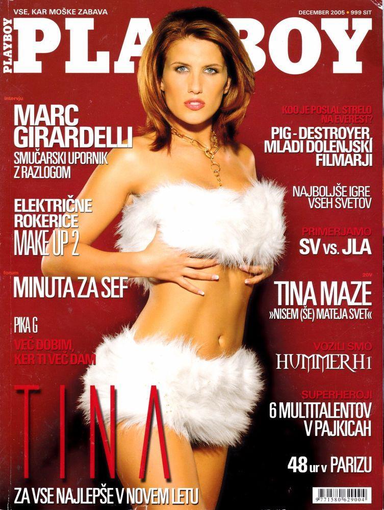 playboy slovenia 12/2005 tina kapelj, tiffany fallon, grazielli