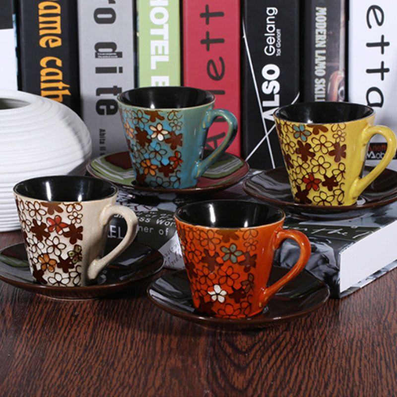small coffee cups set