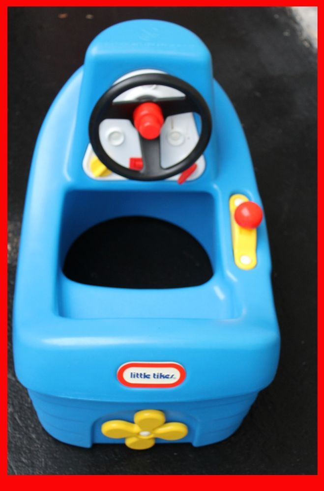 Little Tikes Child Size Blue Tug Boat Tugboat Tuggy Indoor