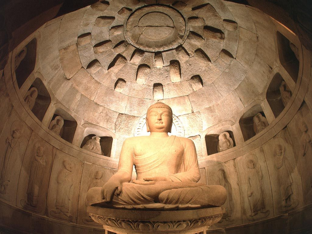 Non Muslim Perspective On The Revolution Of Imam Hussain: ARCHITECTURE: Shakyamuni Buddha, At Entrance To Cave