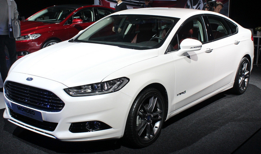 The New Mondeo Is Electric Hybrid Model Of The Old Ford Mondeo