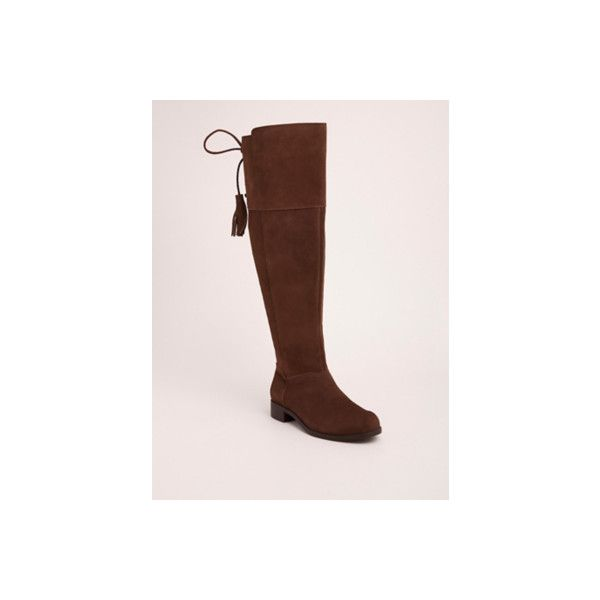 def9a5128b66f Torrid Wide Genuine Suede Tassel Over-the-Knee Boots - Wide Width ...