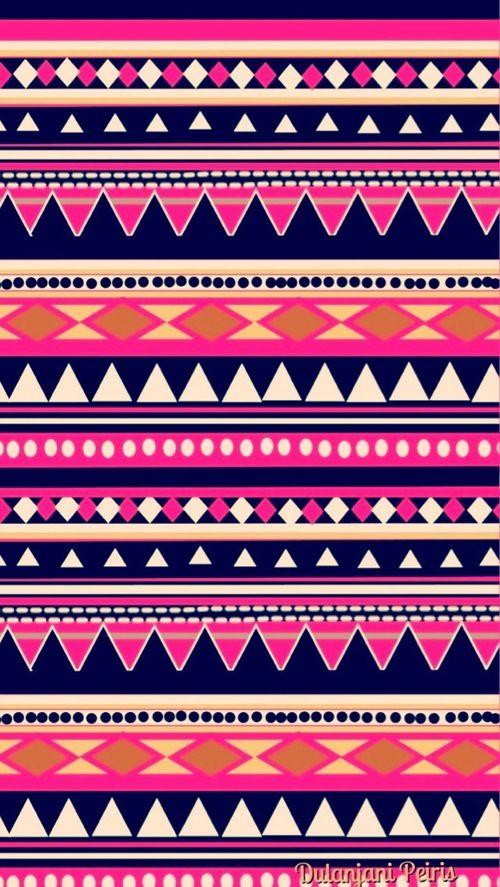 Aztec Tribal Pattern Wallpaper Aztec Wallpaper Tribal Patterns