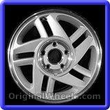 Chevrolet Camaro 1996 Wheels & Rims Hollander #5022A #Chevrolet #Camaro #ChevroletCamaro #1996 #Wheels #Rims #Stock #Factory #Original #OEM #OE #Steel #Alloy #Used