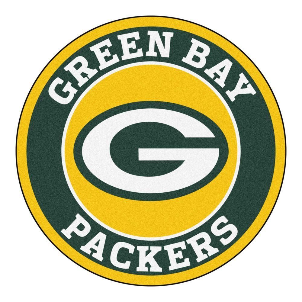 Nfl Green Bay Packers Green 2 Ft 3 In X 2 Ft 3 In Round Accent Rug Green Bay Packers Logo Green Bay Packers Team Nfl Green Bay
