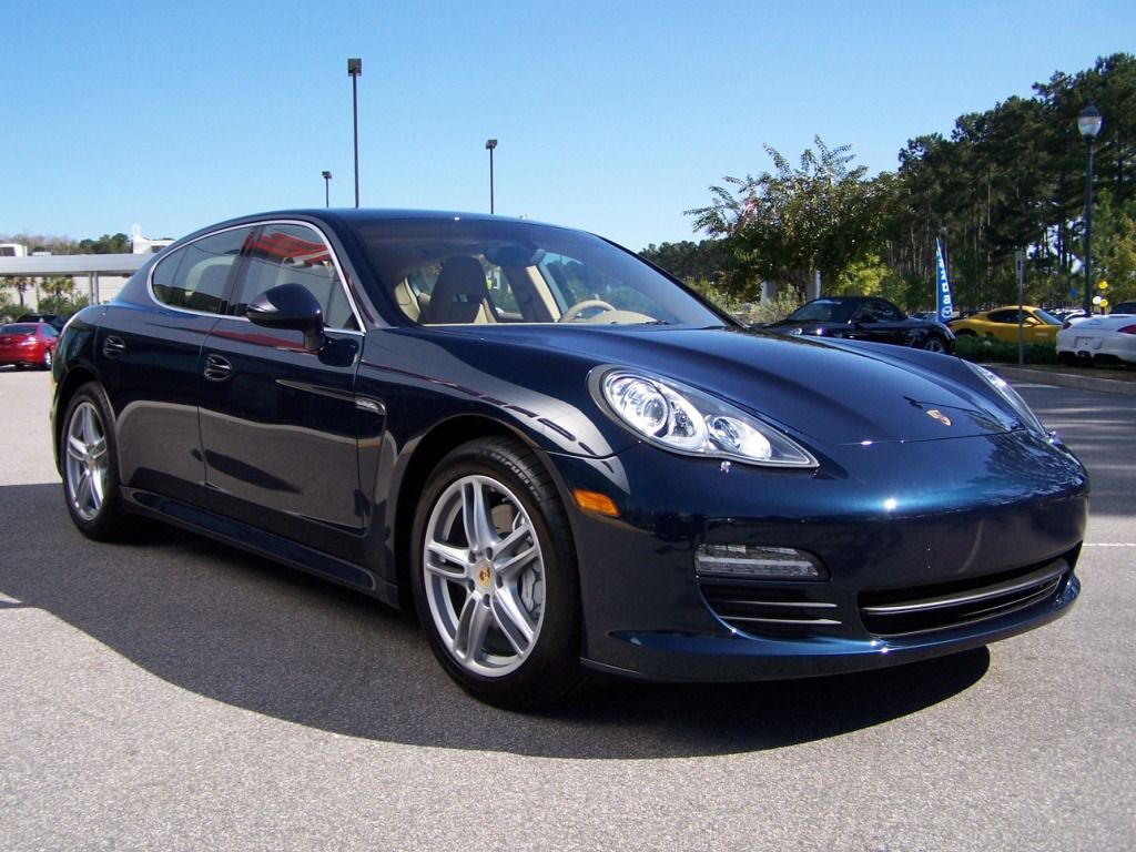 Porsche Panamera In Midnight Blue With Images Porsche Panamera