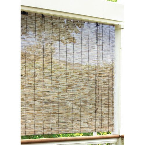 Found It At Wayfair Radiance Outdoor Natural Reed Blind