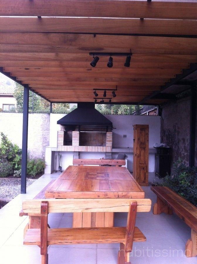 Disenos de quinchos foto quincho en terraza de cristian for Cuanto sale construir una piscina