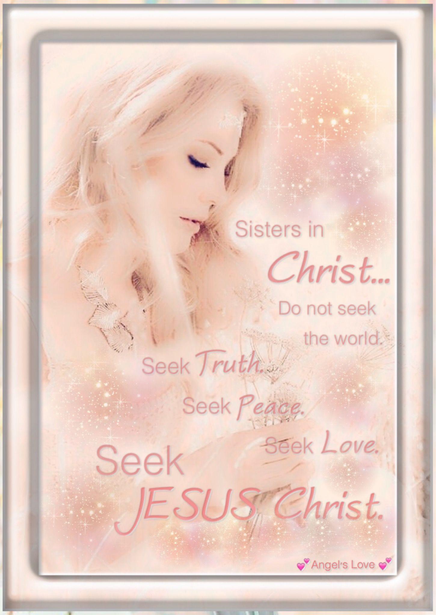 ♕Sisʈɛɾs iɲ Çɦɾisʈ♕ Sisters in christ, Christian quotes