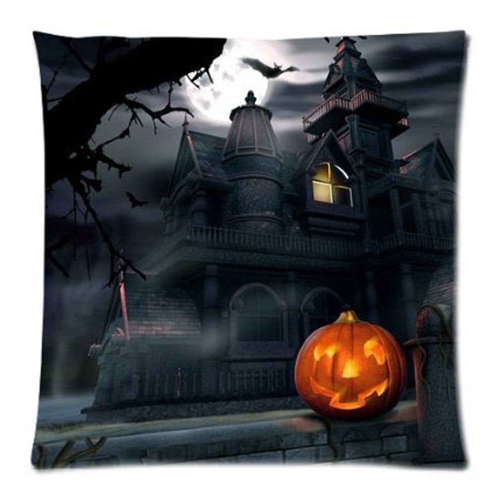 Halloween. 2020 17.99 Halloween Haunted House Pillow Cover / Was 17.99 in 2020