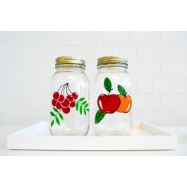 DecoArt® Painted Fruit Canning Jars