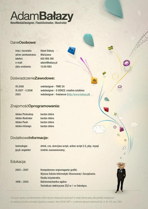 The 40 Most Creative Resume Designs Ever Management In Education